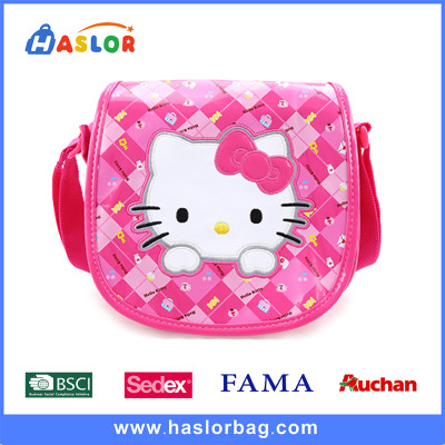 2016 Hot New Girls Kid Shoulder Bags Cartoon Hello Kitty