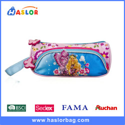 Stylish Lovely Girl Pencil Bag Pink for Primary School Students