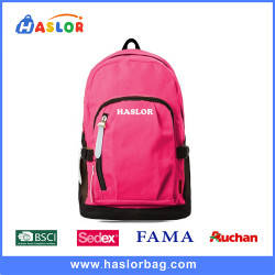 Custom Canvas Backpack Bag School Bags for Girls