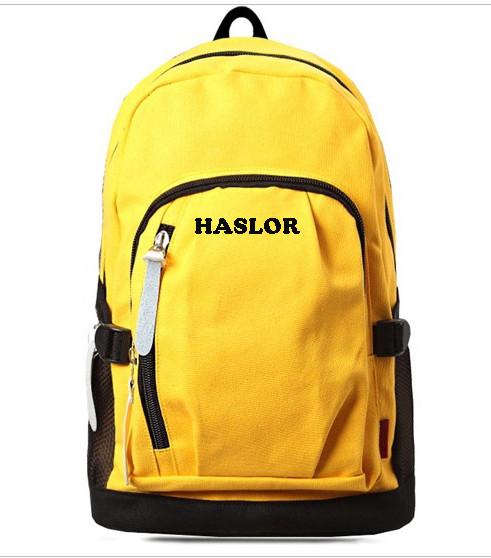 Custom Canvas Backpack Bag School Bags for Girls
