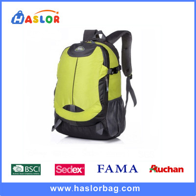 Bright Yellow Climbing Outdoor Backpack New Design