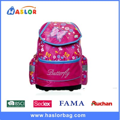 Butterfly Pink Custom Printed Backpacks for Kids Students
