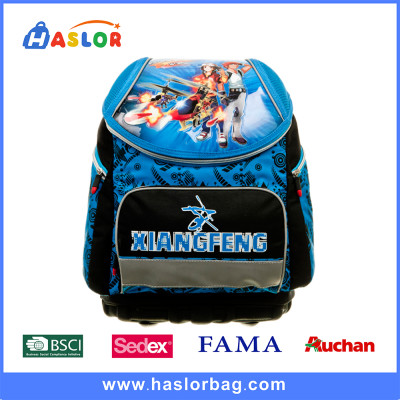 Cartoon Boy Printing for School Backpack Book Bag