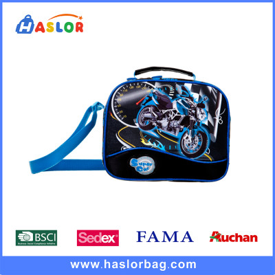 High Quality Blue Color Cool Fashion Boy Shoulder Messenger Bag