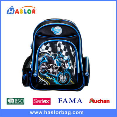 Printed School Backpack High Quality Boy School Bags