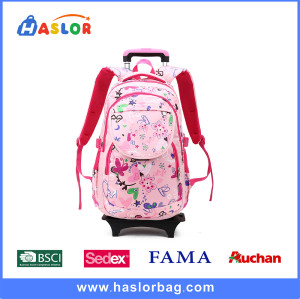 Leisure Kid School Backpack Girls Trolley Backpacks