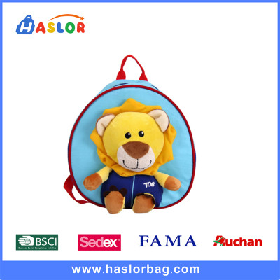 3D Cute Cartoon School Bags /Kids Backpack /Little Lion kids Shoulder Bag