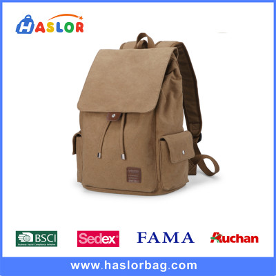 2016 Hot Style Canvas School Bag For High School Student