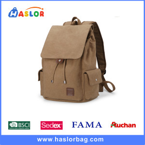 High School Backpacks on Hot Sale for Girl with Canvas Material
