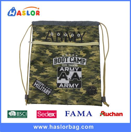 2017 New Fashion and Printing Camouflage Gym Bag