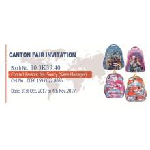 Oct-2017 Haslor Bags 122th Canton Fair