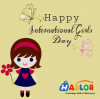 Haslor Wish All Girls Happy International Girls Day