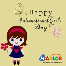 Haslor Wish All Girls Happy International Girls Day