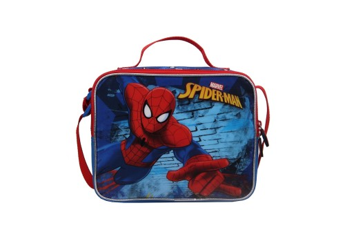 Spiderman Insulated Cooler Lunch Bag for Kids