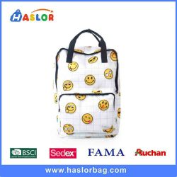 2018 fashion citi trends compartment logo custom backpack china factory