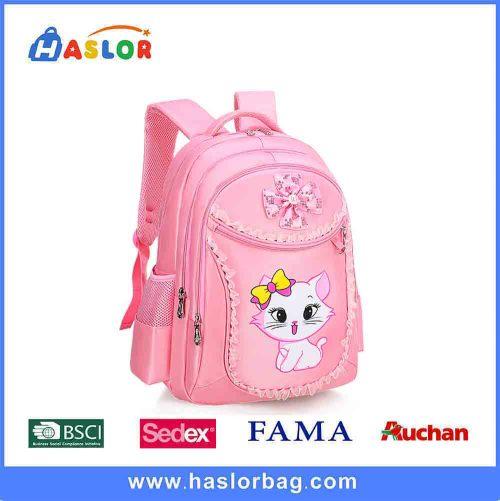 Waterproof Canvas Kids Backpack Schoolbag Girls Bag