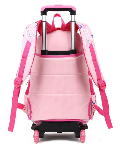 2016 New Style Trolley Kids School Bag With Wheels For Girls Or Boys