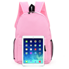 Pink Schoolbag with Fashionable Design