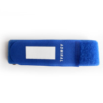 New style durable protection  rubber blue  functional linear elastic velcro strap