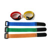 Fashion neoprene nylon polyester blend hook and loop buckle tape