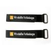 Hot sale durable protection decorative black functional  hook loop buckle strap