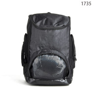 New Arrival 420D+600D Black Outdoor Men Sport Bagpack Bulk Sale