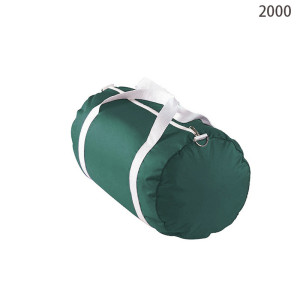 Green Round Travel Time Duffel Bag, Handle Mens Travel Bag