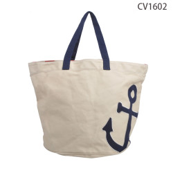 China Manufacturer Plain Canvas Shopping Tote Bag