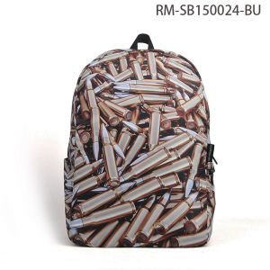 Top Rate Custom Full Printing Waterproof Laptop Backpack Bag