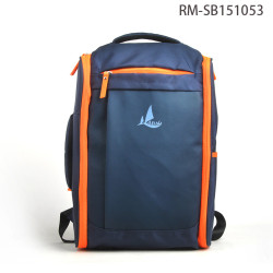 Multifuncional estilo caliente azul impermeable mochila bolso