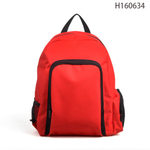 Holidays Waterproof Red Design Sports Backpack Bag