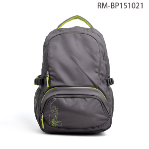 Multifunctional Gray Sports Backpack Bag School