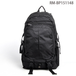 Factory Direct Sale Outdoor Laptop Black Sports Backpack