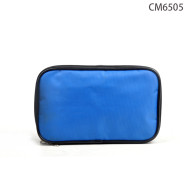 Make Up Promotional Blue Cosmetic Bag Wholesale