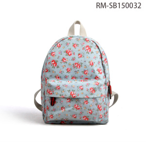 Premium Floral Simple Design Young Casual Laptop Bag Backpacks