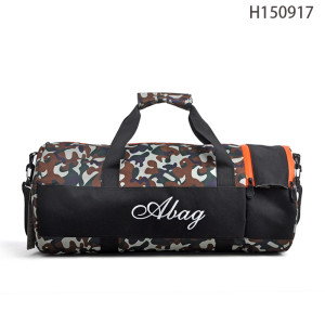Camouflage Lightweight Mens Travel Bag, One Day Travel Storage Bag