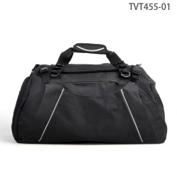 Fancy Design Weekend Travel Bag, Black Tote Travel Men Bag