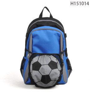 MENS SPORTS SOCCER BACKPACK BAG,  FOOTBALL BACKPACK FACTORY SALE