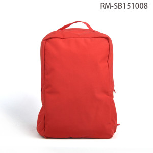Korean Style Fashion Design Red Day Backpack With Hat Wholesale