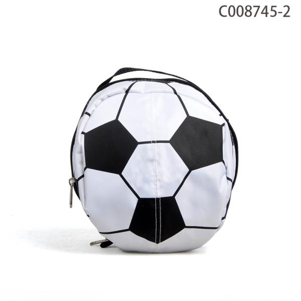 Personalisierte  günstige kleine Kühltasche im Fußball Stiel Großhandel