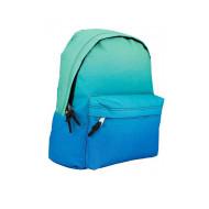 Blauer  Klassischer Laptop Rucksack in voller Farbe für junge Herren in voller Farbe