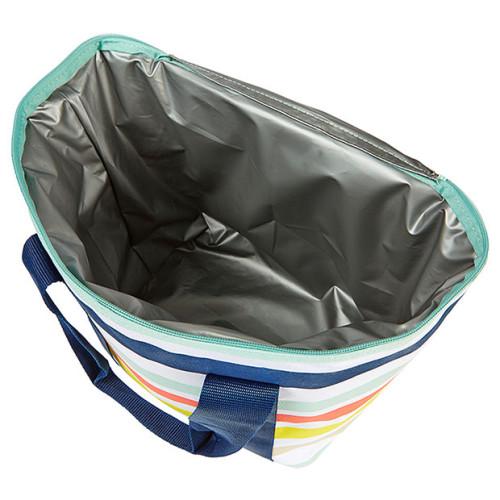 Isolierte thermalische robuste Lunch Kühltasche aus Polyester 600D