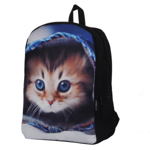 2017 cute customized design  Pet pattern design waterproof wear-resistance Backpack