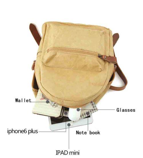 Tyvek Paper Rucksack im attraktivem Design