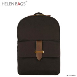 High Quality Handbag Factory Custom Brand Unisex Laptop Bag School Women Backpack Travel 2017 Waxed Canvas Backpacks