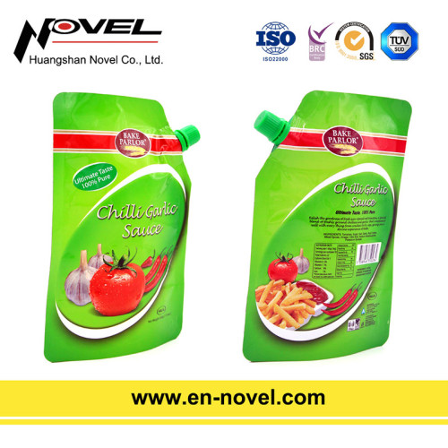 High Barrier Laminated Stand Up Sauce Bag/Pouch