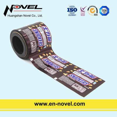 Aluminum Foil Laminated Plsatic Roll Film for Coffee Sachet/Chocolate Bar