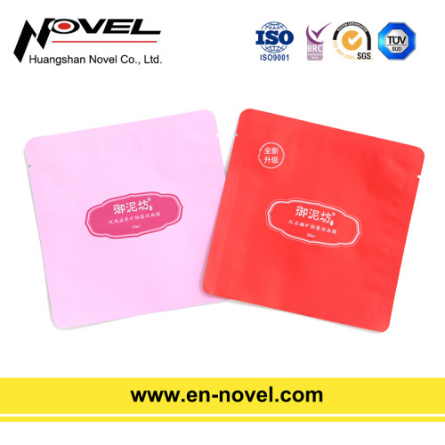 Customized Aluminum Heat Seal Bags for Facial Mask Packaging