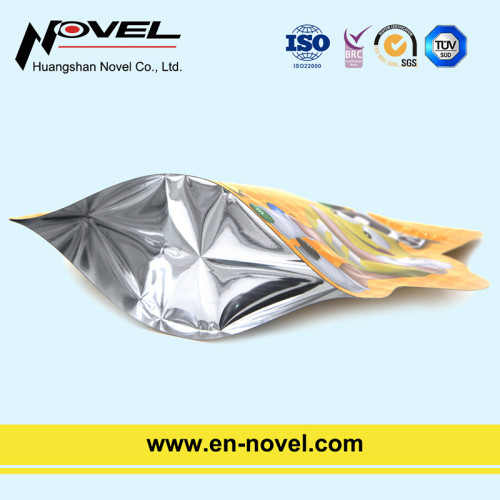 Aluminum Foil Shaped Stand Up Chocolate Bag/Pouch with Zipper