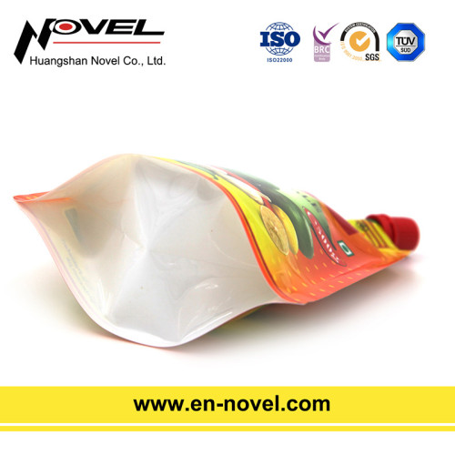 No Leaking Stand Up Pouch with Spout for Oil Packaging